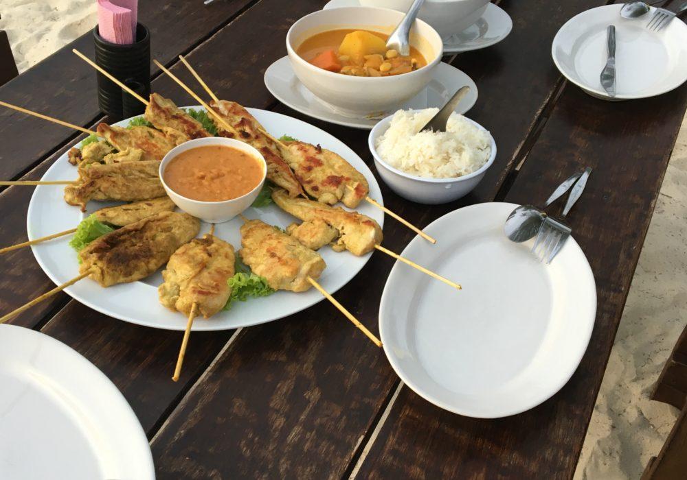Opskrift på Chicken Satay